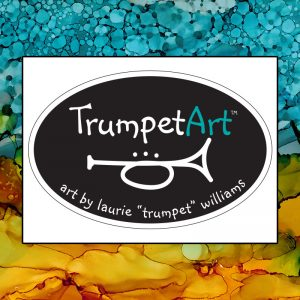 Trumpet Art by Laurie Williams